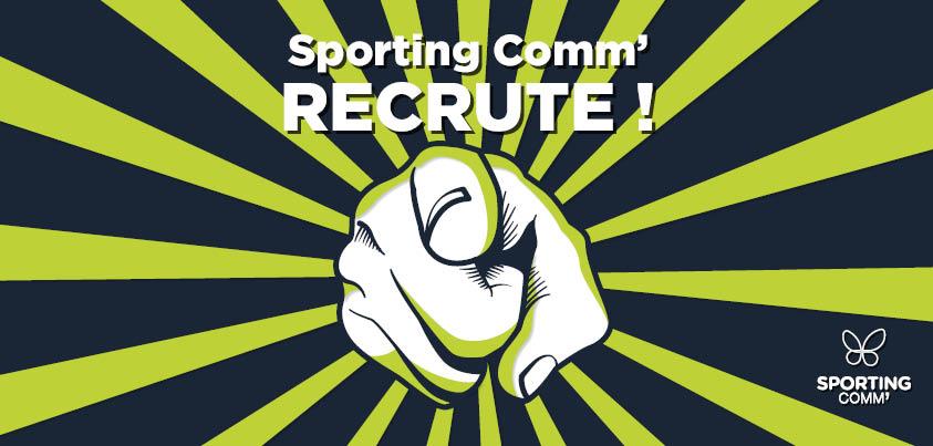 Sporting Comm recrute un(e) graphiste - web designer (H/F)